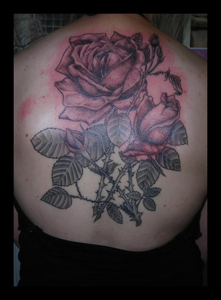 Tatouages Motifs Fleurs Tattoo Studio