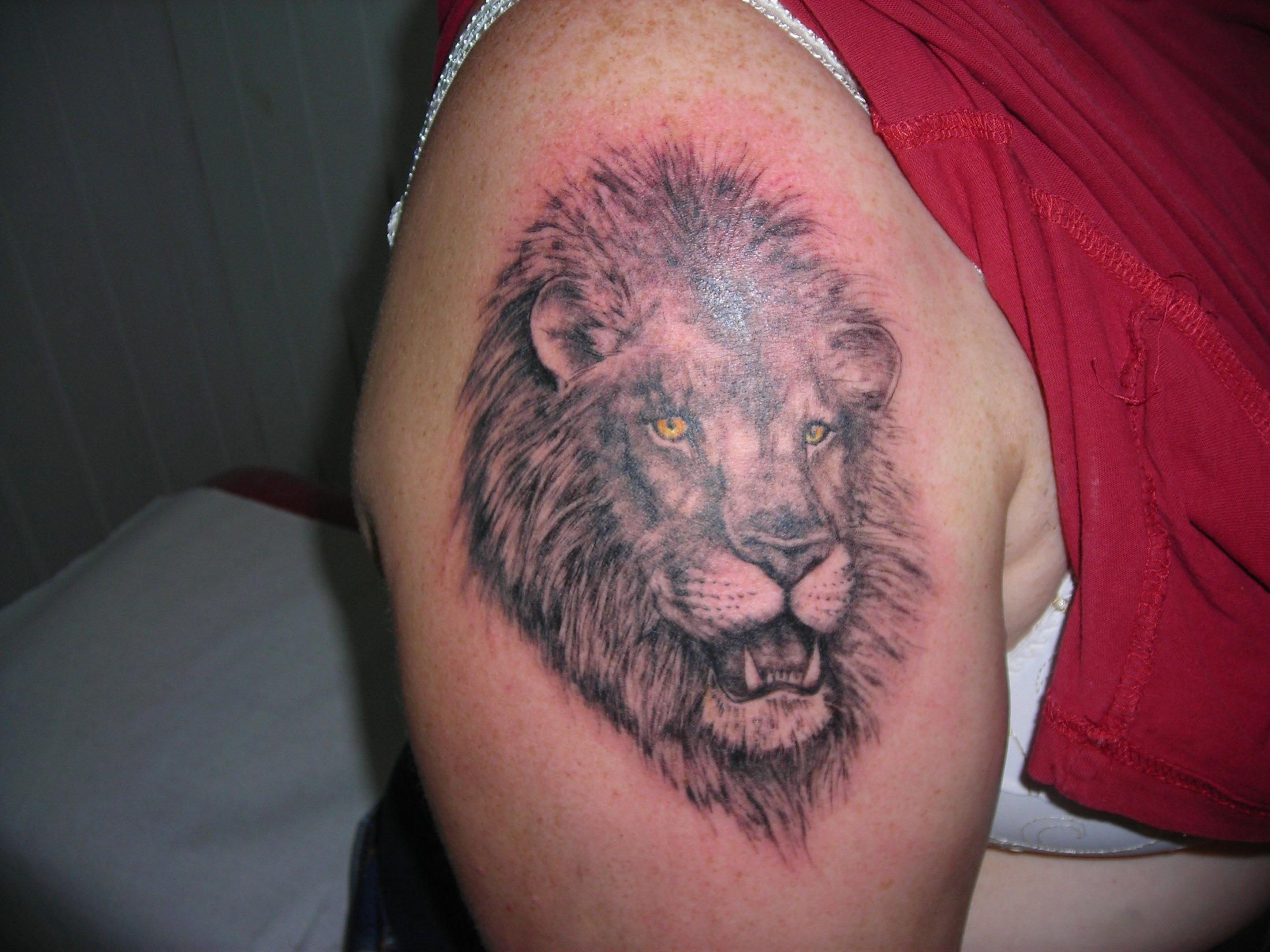 Gmedia posts archive page 7 sur 36 tattoo studio - Tatouage lion epaule ...