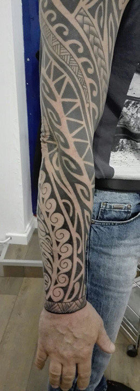 Tatouage Tribal Avant Bras Tattoo Studio