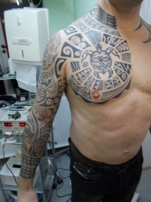 Tatouage tribal / maori