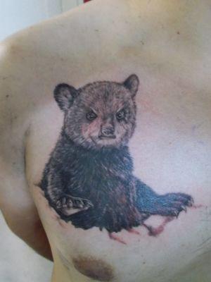 tatouage ourson