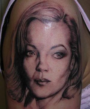 Tatouage portrait Romy