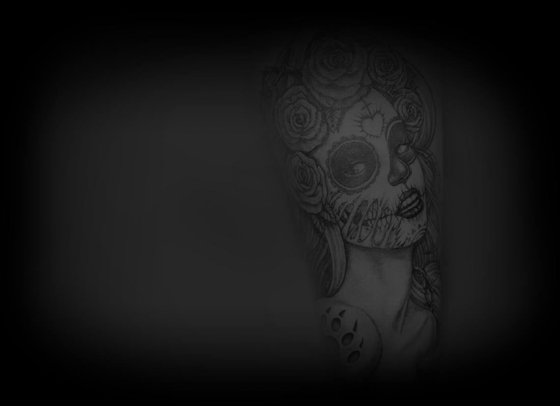 Tatouage masque mexicain