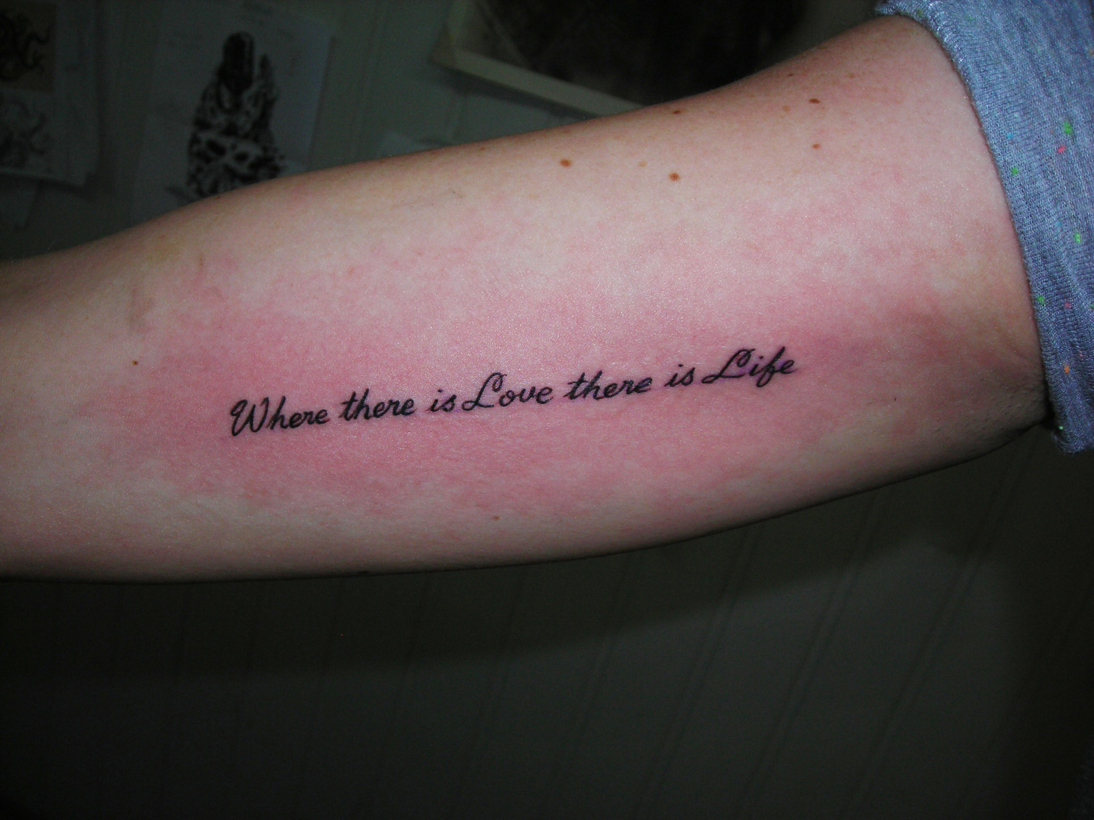 Tatouages Lettrage Et Calligraphies Tattoo Studio