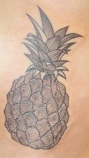 Tatouage ananas !
