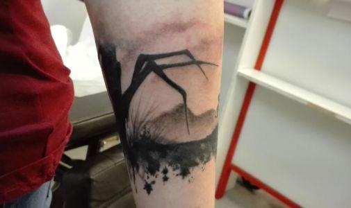 Tatouage jeu vidéo Limbo