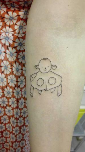 Tatouage d'un doudou !
