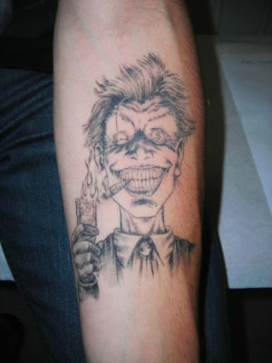 Tatouage le Joker