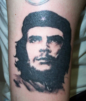 Tatouage portrait Che Guevara
