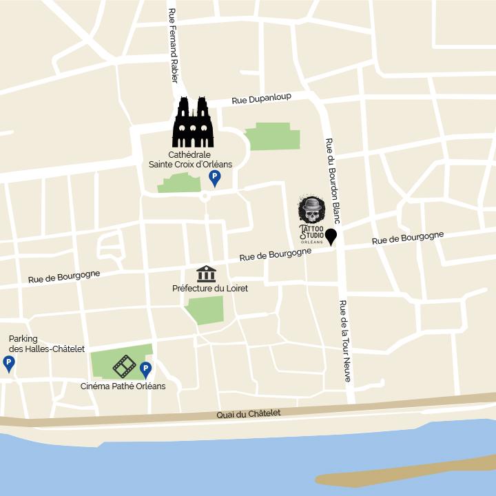 Tattoo Studio Orléans 128 rue de Bourgogne 4500 Orléans